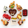 Food simulation model 3D refrigerator home decoration coffee machine tomato crab bread banana fridge magnets Collection Gifts 1
