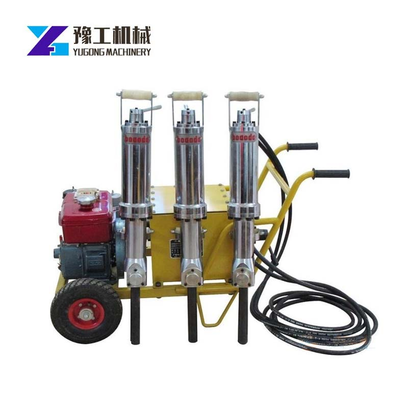 Hydraulic Cleaving Machine Rock Splitter Construction Mining Demolition Buildings Bridges Pressure 10~60Mpa Splitting Force1000T