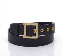 2020 new Korean women's casual PU wide belt women's fashion simple decoration with jeans(China)