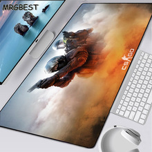 MRGBEST Anime Large Game Player Computer Lockedge Mouse Pad Durable Rubber Desktop Pc Keyboard Mat for CSGO Gamer Xxl L