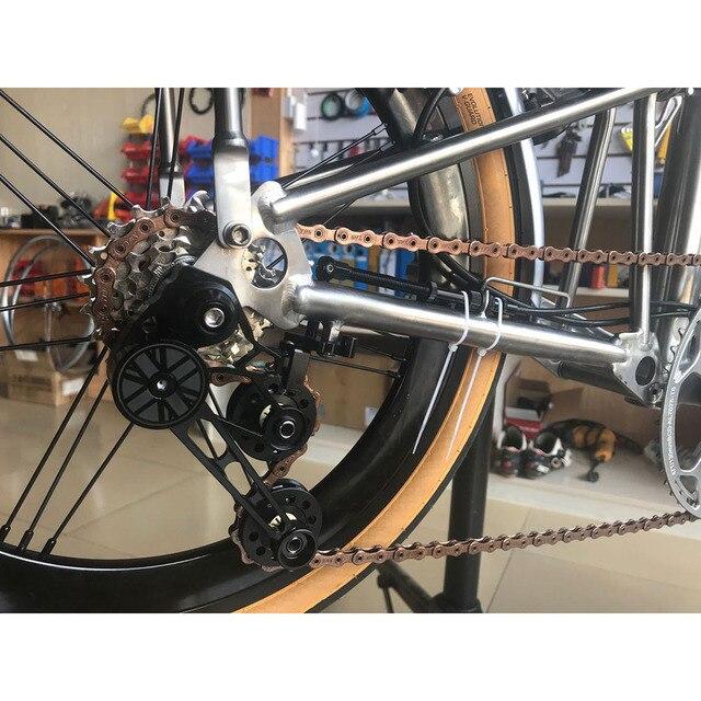 Купить ybn 11 цепь для скоростного велосипеда бромптона sla h11 tig картинки цена