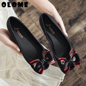 Image 3 - Sandalias de verano para mujer, zapatos de primavera para mujer, calzado de cabeza, zapatos de gelatina, zapatos de Boca de pescado con lazo a la moda, novedad de 2019