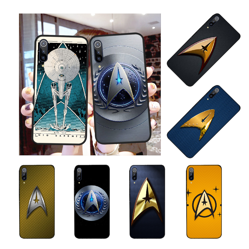 NBDRUICAI Star Trek Movie Soft Silicone Black Phone Case for Redmi Note 8 8A 7 6 6A 5 5A 4 4X 4A Go Pro Plus Prime