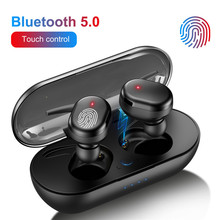 TWS Y30 Portable Bluetooth Wireless Earphone 5.0 Waterproof Headset 3D Stereo Earbuds Handf