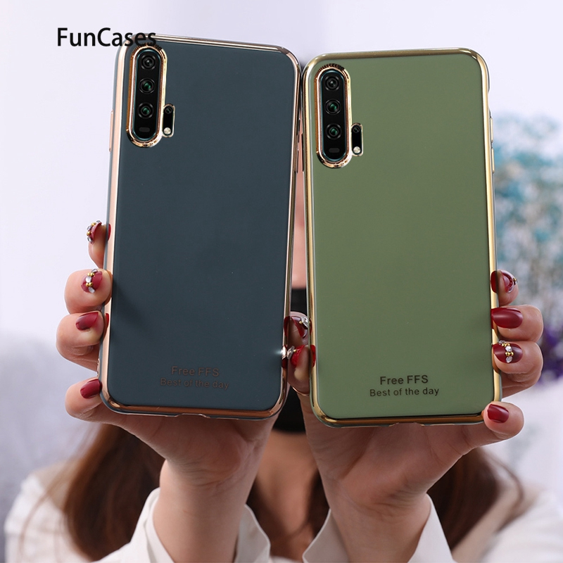Fashion Soft Silicone Case For Huawei Honor 30 Pro Protector Cover Honor 10i 20 Pro 30S P Smart Plus 2019 30 20i 10 Lite 20S Z(China)