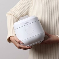 Electric Rice Cooker Mini 1.2L Smart Cooker Multicooker Rice Supports Appointment Timing Food Warmer With LCD Display