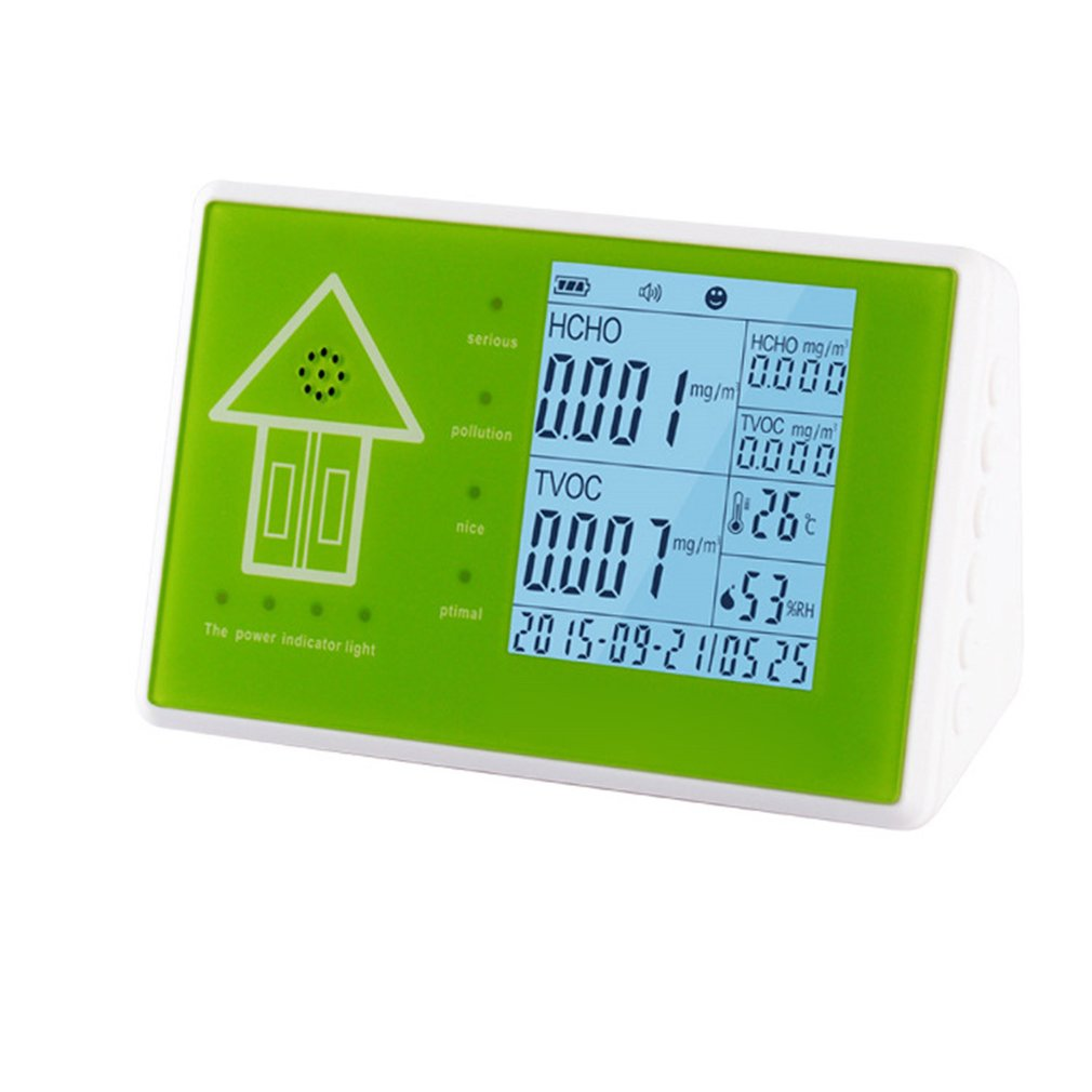 Air Quality Monitor Formaldehyde Detector Pm2.5 Detector Toluene Detector Pm10 Detector Gas Analyzer Pollution Meter Sensor