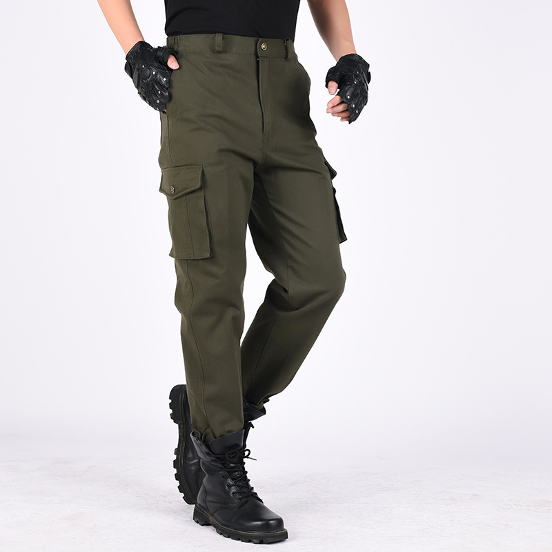 Wear-resisting Cargo Pant Men Army Green Pants Military Style Casual Pantalones Autumn Pants Outdoor Work Trousers Camo Overalls