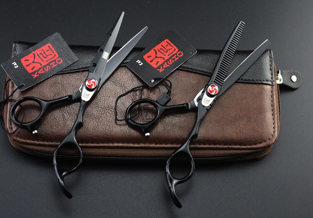 Профессиональные Парикмахерские ножницы 6 дюймов ножницы для волос Парикмахерские Ножницы Прямые филировочные ножницы для стрижки волос