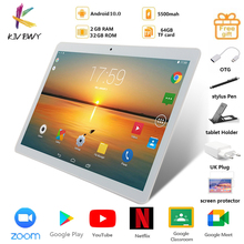 Tablet Pc Phone-Call Play Wifi Android Google Octa-Core LTE New GPS Bluetooth 4g Tempered-Glass