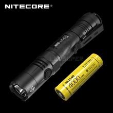 USB-C Перезаряжаемые NITECORE MH10 V2 светодиодный 1200 Люмен двойной топлива фонарик для ежедневного использования с NL2140 4000 мА/ч, Батарея
