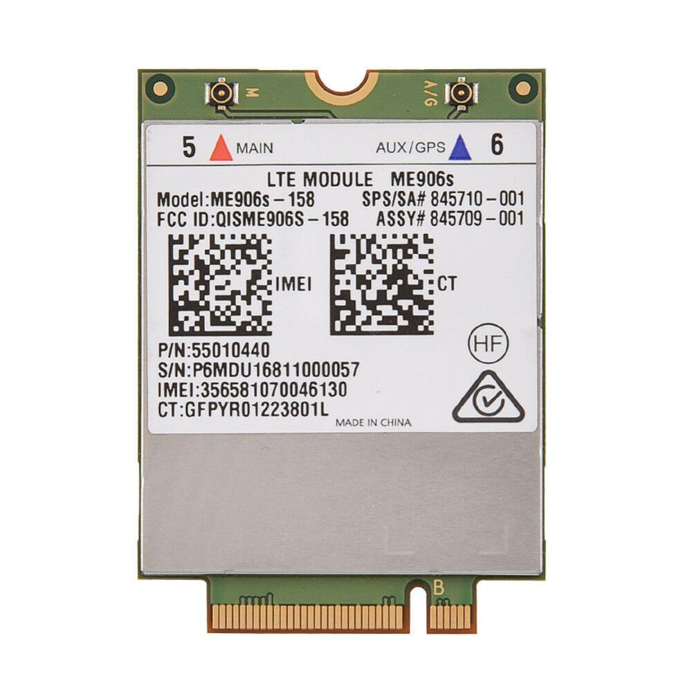 Huawei ME906S Mobile Broadband Card For HP 820 840 850 G4 LT4132 LTE HSPA+ 4G Module ME906S-158