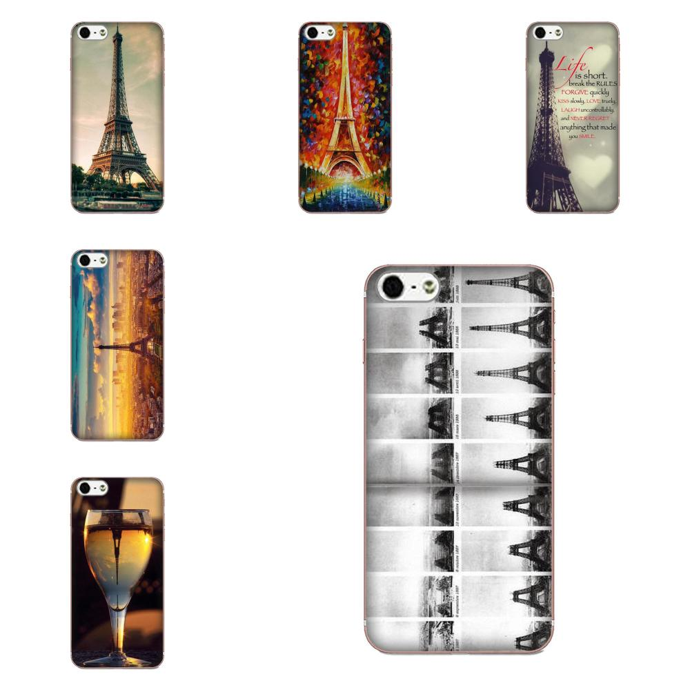 Eifel Tower For Samsung Galaxy A51 A71 A81 A90 5G A91 A01 S11 S11E S20 Plus Ultra Painted Cover Colourful Style Cell Phone Case image