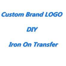 DIY naprasowanki naklejki własne LOGO łatka naprasowanki na ubrania DIY termotransferowy gorący winylowy żelazny naklejka