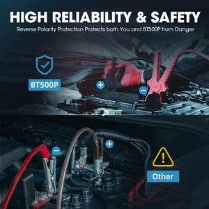 Image 5 - Topdon BT500P 12V 24V Auto Batterij Tester Met Printer Batterij Load Test Voor Motorfiets Auto Opladen Zwengelen Batterij analyzer
