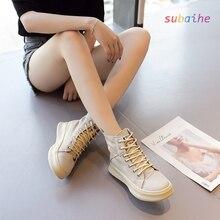 Прогулочная обувь на плоской подошве для школьниц; парусиновая ткань; цвет бежевый, хаки; повседневные кроссовки; женская обувь