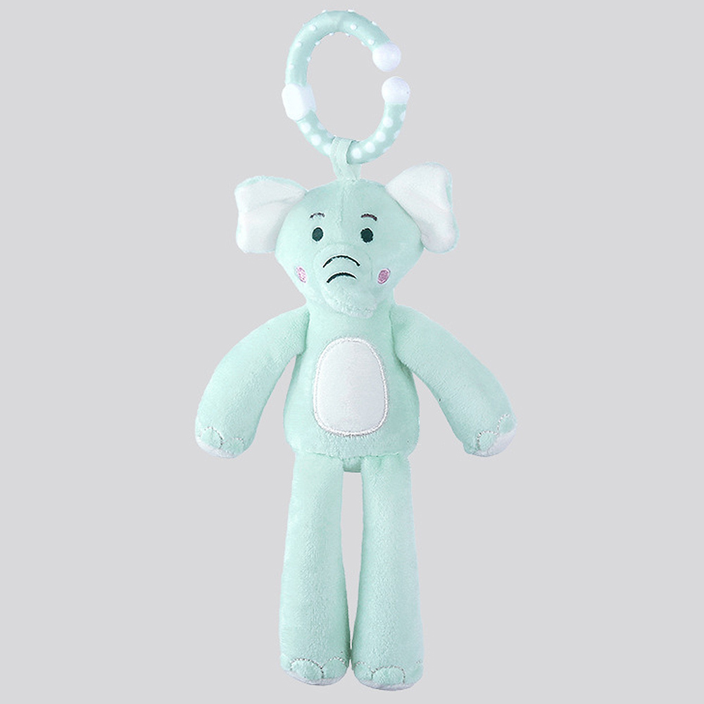 Baby Infant Rattles Plush Monkey Stroller Wind Chimes Bed Hanging Bell Toy Doll Soft Appease Toys