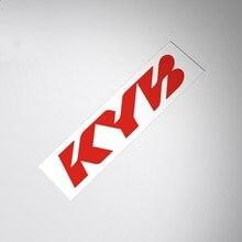 Autocollant en vinyle de style de voiture, décalcomanies de course de vélo de Motocross pour Suspension KYB tampon de tige à gaz à ressort