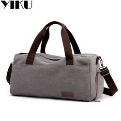 Холщовая Сумка большого объема для деловых поездок, дорожная сумка, Мужская портативная спортивная сумка, короткий багаж для путешествий
