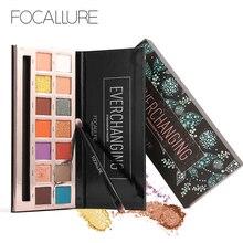 Focallure 14 Colors Glitter Eyeshadow Pallete Professional Makeup Shimmer Eye Shadows palette women Beauty Shadow
