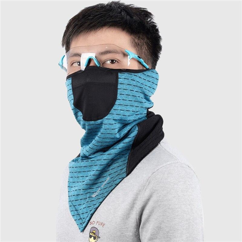 H0d69d05589394c55b11daaaa99d7062fy WEST BIKING Winter Cycling Mask Fleece Thermal Outdoor Sports Facemask Bandana Headband Anti-UV Running Training Ski Face Mask