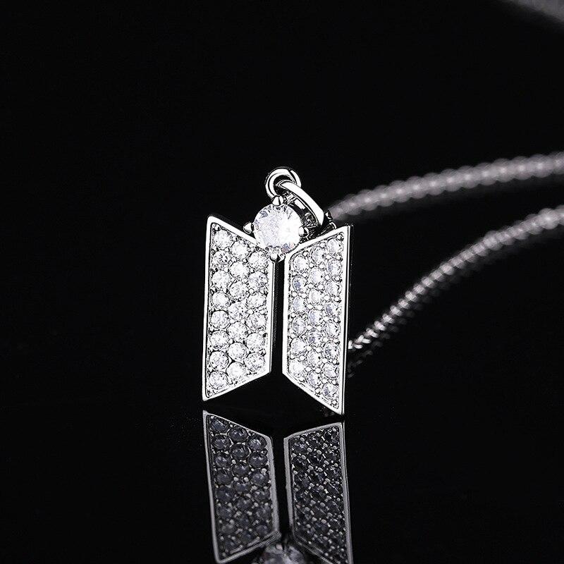 BTS Jewelry Logo Necklace 5