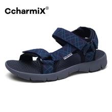 CcharmiX Men Sandals Vietnam Summer Breathable Walking Men Shoes