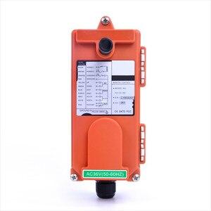Image 5 - F21 E1 (1 transmisor + 1 receptor), Radio inalámbrica Industrial, 1 velocidad, 6 botones, mando a distancia para grúa de elevación