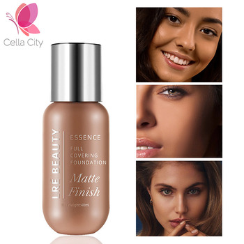 Cellacity profesional base foundation 40ml Long Lasting 10 color Liquid Face Foundation Makeup Coverage Natural Foundation