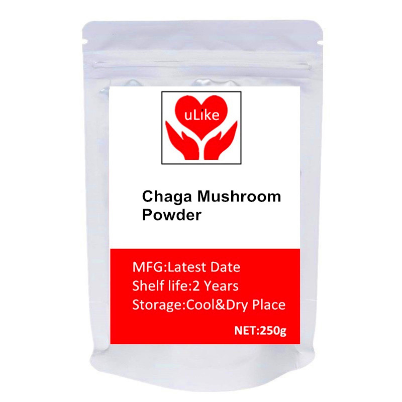 Organic Chaga Mushroom Powder - Superfood Supplement image
