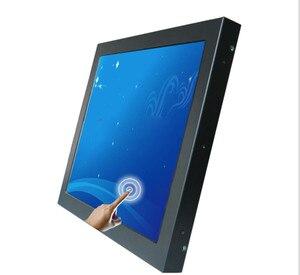 Marinha ip65 à prova d15 água 15/17/19/21.5 polegada 1000 lêndeas ao ar livre lcd monitor de tela sensível ao toque