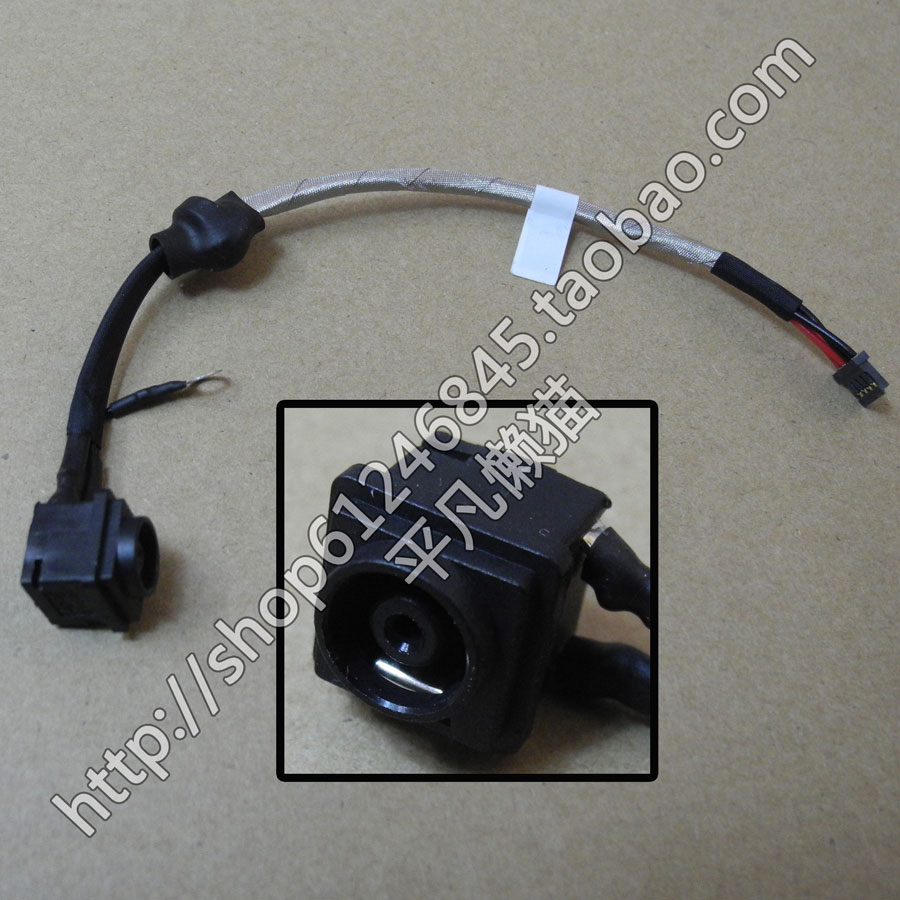 WZSM Wholesale New DC Power Jack Connector Cable For Sony  PCG-81212M PCG-81213M PCG-81211W
