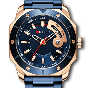 Fashion Mens Watches Top Brand Luxury Waterproof Japan Quartz Watch Men Business Clock montre homme reloj hombre #Men's Watch(China)