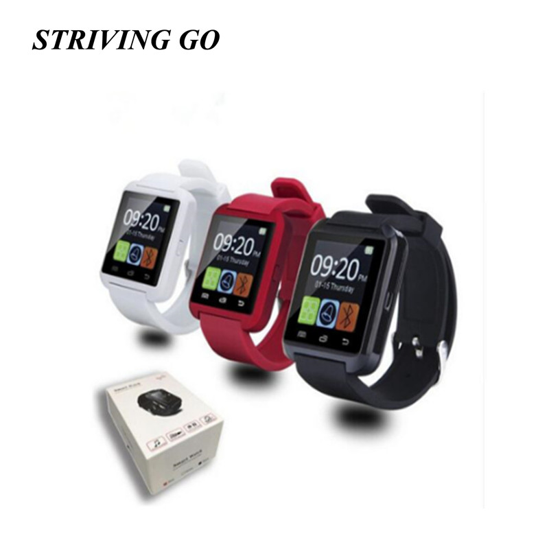 2020 New Stylish U8 Bluetooth Smart Watch For IPhone IOS Android Watches Wear Clock Wearable Device Smartwatch PK DZ09 Q18