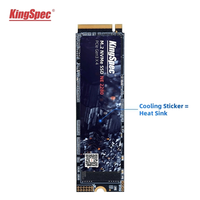 Hot KingSpec M.2 NVME ssd M2 1TB PCIe NVME SSD 128GB 512GB 256gb 2TB Solid State Drive 2280 Internal Hard Disk hdd for Desktop 5
