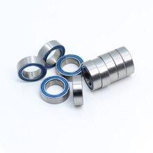 MR85RS подшипник ABEC-3(10 шт.) 5X8X2,5 мм миниатюрные MR85-2RS шарикоподшипники синий резиновый герметичный MR85 RS