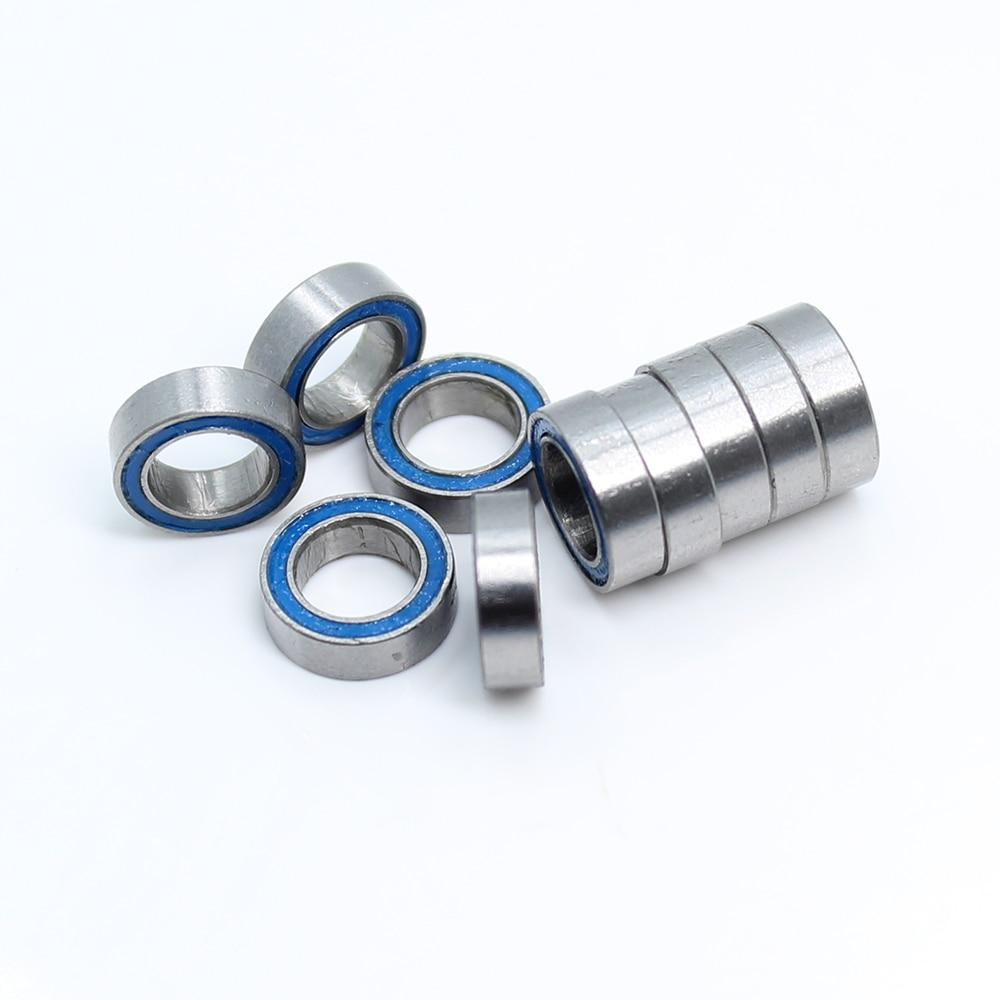 MR74 20 PCS 4x7x2 mm Chrome Metal OPEN Precision Ball Bearings Bearing 4*7*2