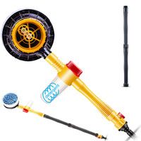 2019 Rotating Car Wash Brush with Soap Reservoir Spray Water Window Cleaner Home Cleaning Tool CSL88