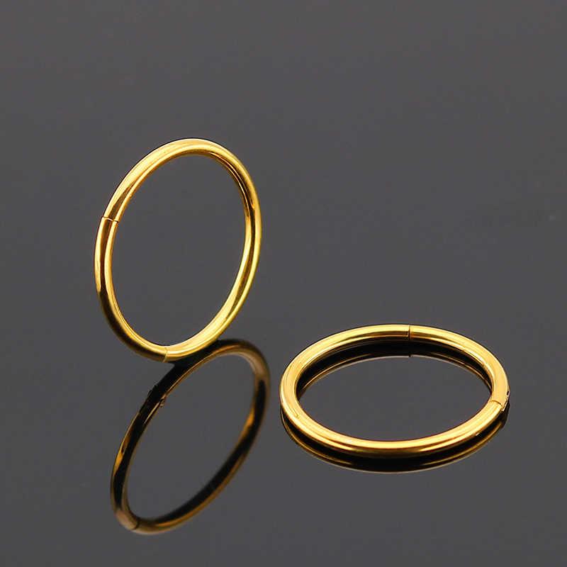 Innopes Hinged Septum Clicker Segment Nose Ring Lip Ear Cartilage
