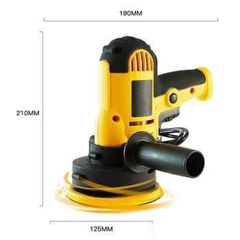 700W M14 Auto Polishing Machine With Disc 220V Electric Car Polisher Waxing Tool Sander Power Tool For Car Floor Furniture