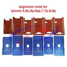 Алюминиевая форма положения для iphone 8 x xr xs max 11 pro