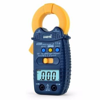 A3398 Digital LCD Multimeter Meter Current AC/DC Voltage clamp meter multimeter ammeter voltmeter wattmeter ac 80 260v 0 100a lcd digital display current voltage power energy meter