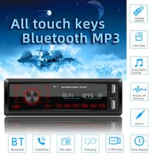 M10 LCD Auto MP3 Player Dual USB Bluetooth4.0 Lautsprecher TF Karte U Disk AUX FM Radio 95AF(China)