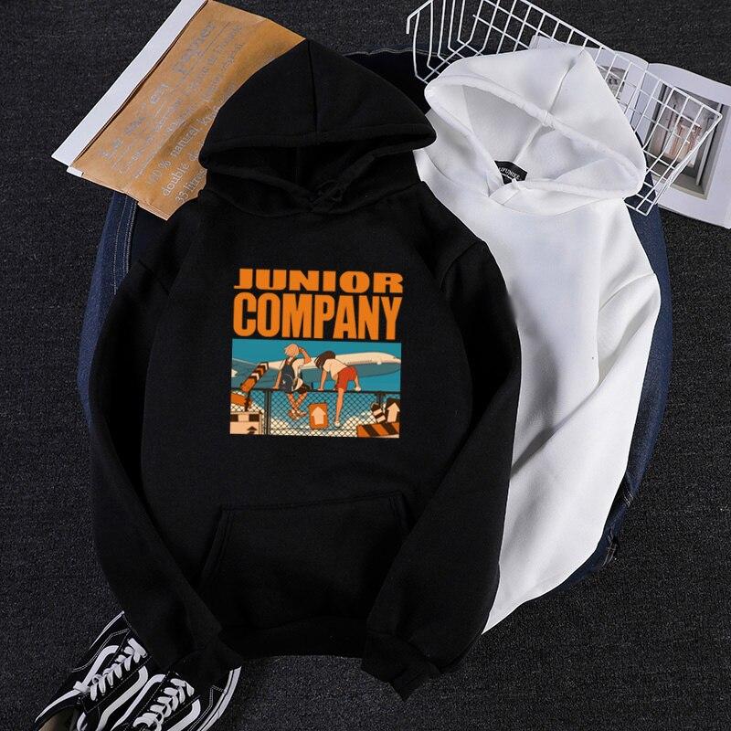 Harajuku Novelty graphic cartoon print men's hoodies hip hop casual sweatshirts brief high quality plain clothes man streetwear