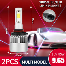9005 9006 HB4 Auto Car Mini Led H7 H4 H1 H11 4000LM LED Fog Light Of Wind Energy For Cars Super Bulb Headlight Mile Automotive(China)