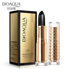 bioaqua black rose lip balm natural herbal extract moisturizing clarify lip repair wrinkles woman Nourishing Lip Care lipstick цена