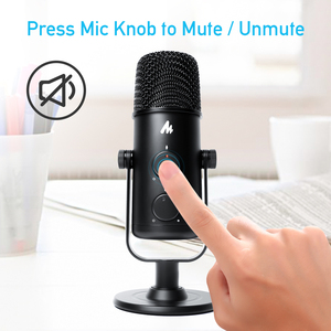 Image 5 - MAONO USB Microphone Professional Condender Microphone Omnidirectional Studio Microphone Computer Mic For Youtube Podcast Gaming
