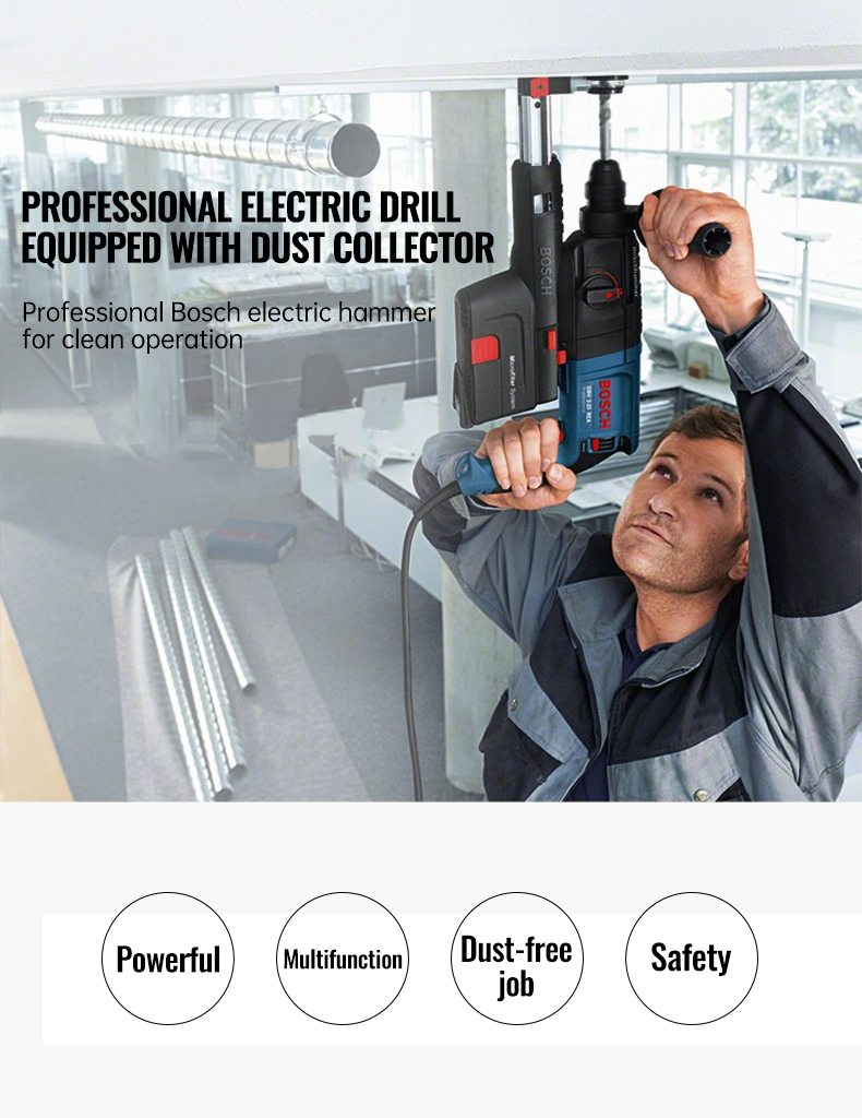 Bosch Electric Hammer Impact Drill