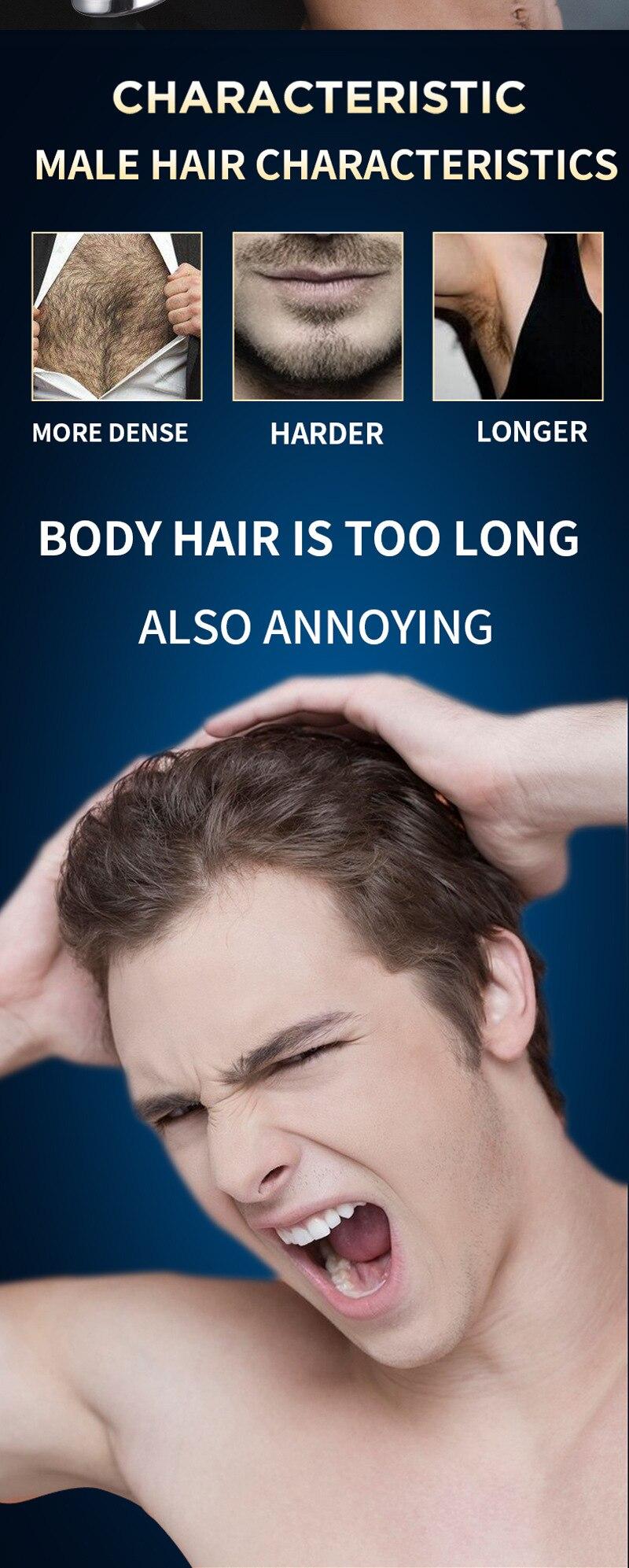 de pêlos depilação indolor biquíni trimmer rápido