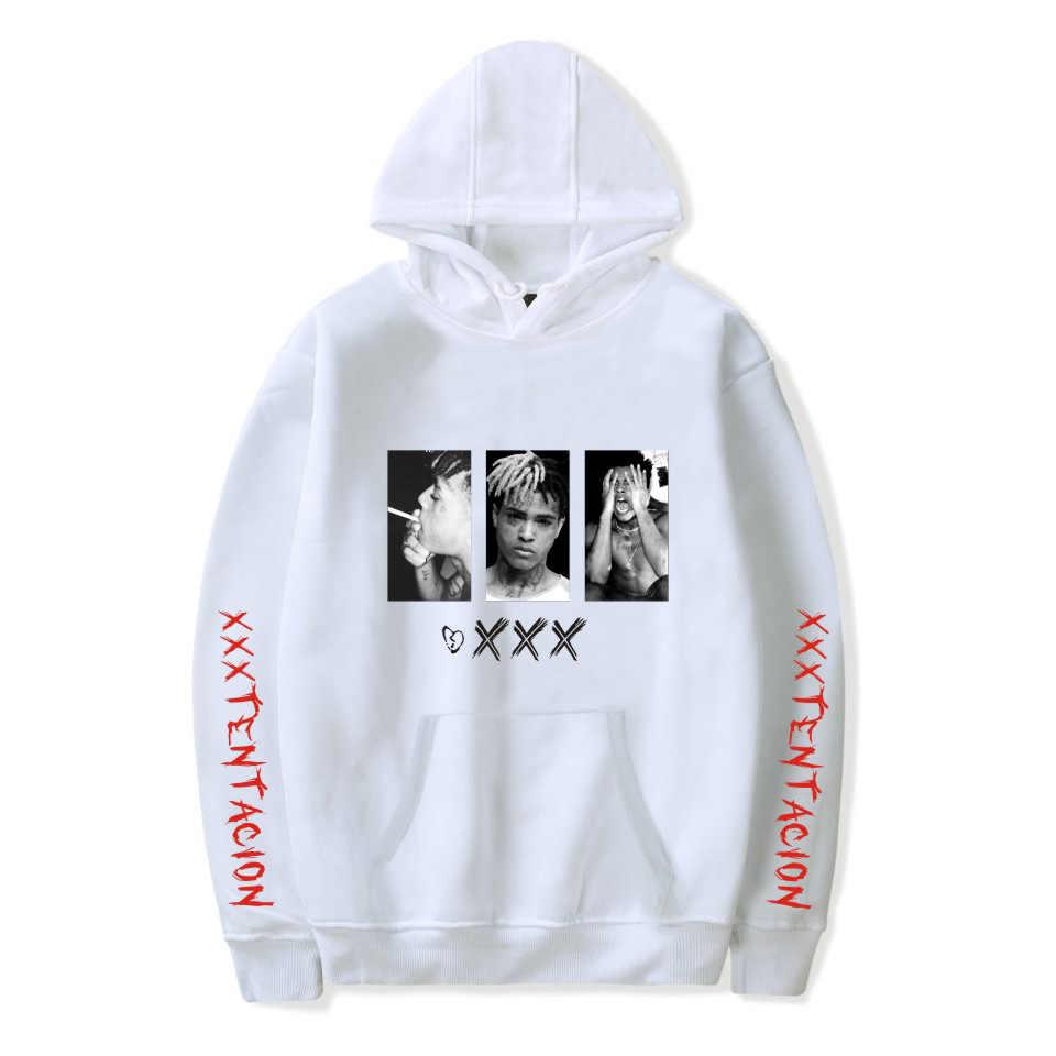 Xxxtentacion Juice Wrld Sweatshirt Hoody Sudadera Hombre Rapper Hip Hop Pria Hoodies Kaus Juice Wrld Vintage Pakaian Olah Raga